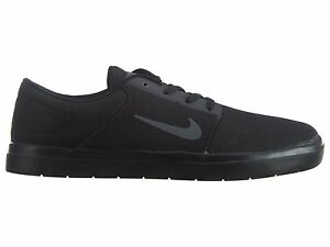 huge selection of 3110b 59d7f Image is loading Nike-SB-Portmore-Ultralight-Canvas-Mens-844445-001-