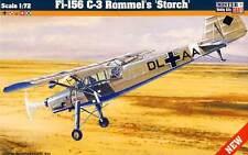 Fieseler fi-156 c-3 Rommel CICOGNA Polonia Svizzera SOVIET modello 1:72 - KIT KIT