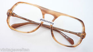 Brillen Herzhaft Atrio Opabrille Markenfassung übergroße Glasform Brille 70s Blogger Grösse L Beauty & Gesundheit
