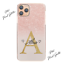 Pink-Initial-Phone-Case-Personalised-Pink-Grey-Marble-Hard-Cover-For-Samsung-A miniatuur 9