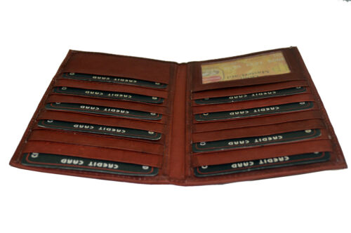 Men/'s Credit Card Holder with 18 credit card slots. BLACK FRIDAY SPECIAL