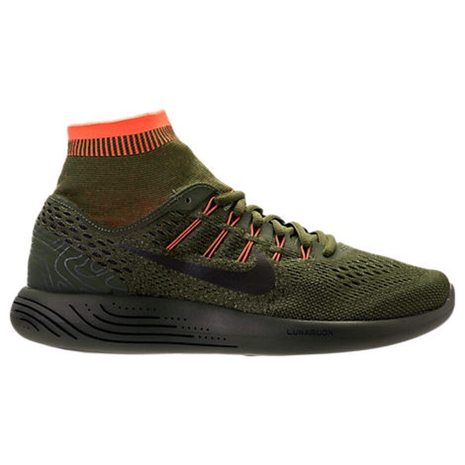 MENS NIKE LUNARGLIDE 8 B SIDE LEGION GREEN RUNNING SHOES MEN'S SELECT YOUR SIZE
