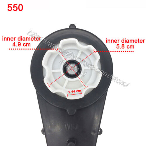Children electric car gearbox with motor 12v kids ride on electric car motor
