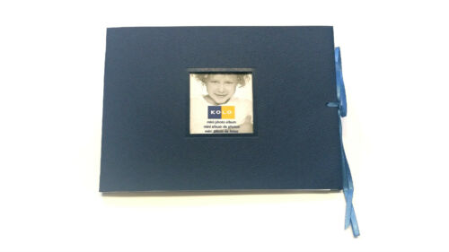 10x Kolo Mini Photo Albums  5 x 7 Navy blue
