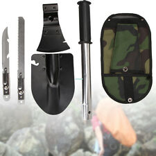 Camping Hiking Survival Emergency Gear Knife Shovel Axe Saw Kit Tool 4 In 1