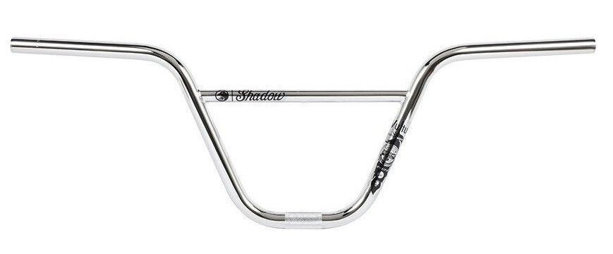 SHADOW CONSPIRACY VULTUS FEATHERWEIGHT BMX BIKE BARS 8.75 FIT HARO SE S&M CHROME