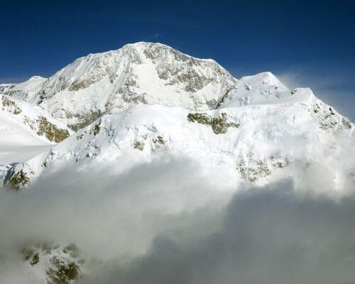 Denali Mount McKinley in Denali National Park in Alaska Photo Print