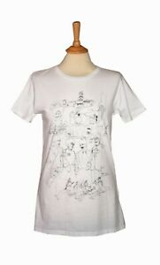 The Beatles Slim Fit T-Shirt in White fj187
