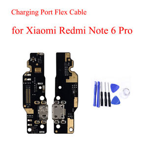 USB-Micro-Plug-Charging-Board-Port-Flex-Cable-For-Xiaomi-Redmi-Note-6-Pro