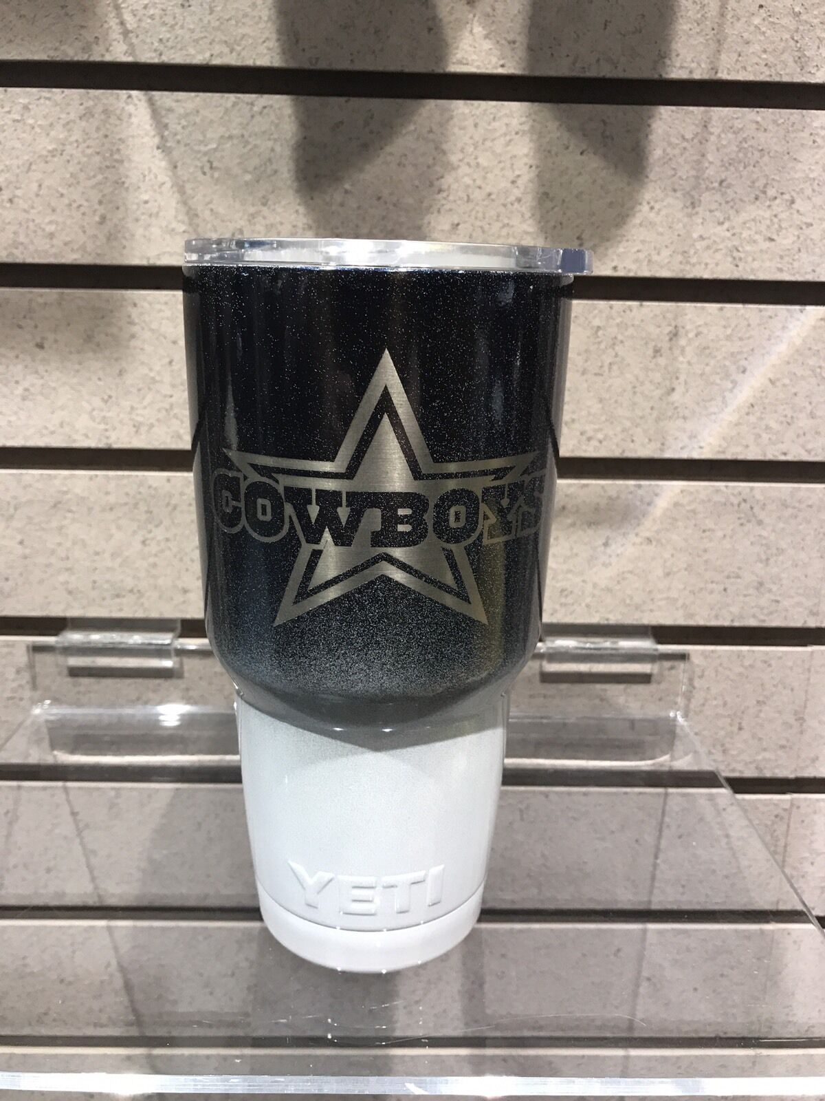 YetiTravel  Tumbler Stainless Steel 30oz.ENGRAVED The Dallas Cowboys  inexpensive