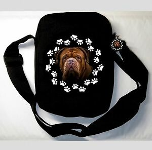 Dogue de Bordeaux Bordeaux Dogge Tasche MESSENGER BD4