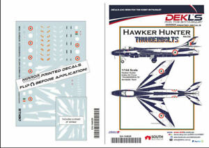 1-144-Hawker-Hunter-039-Thunderbolts-039-Aerobatic-Team-Indian-Air-Force-Decals