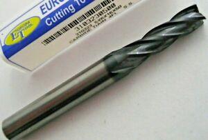 "3//8/"" Carbide Endmill 4 Flute Flat Bottom Regular TiAlN 20pcs"