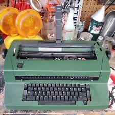 Vintage Green Ibm Correcting Selectric Iii Electric Typewriter Working