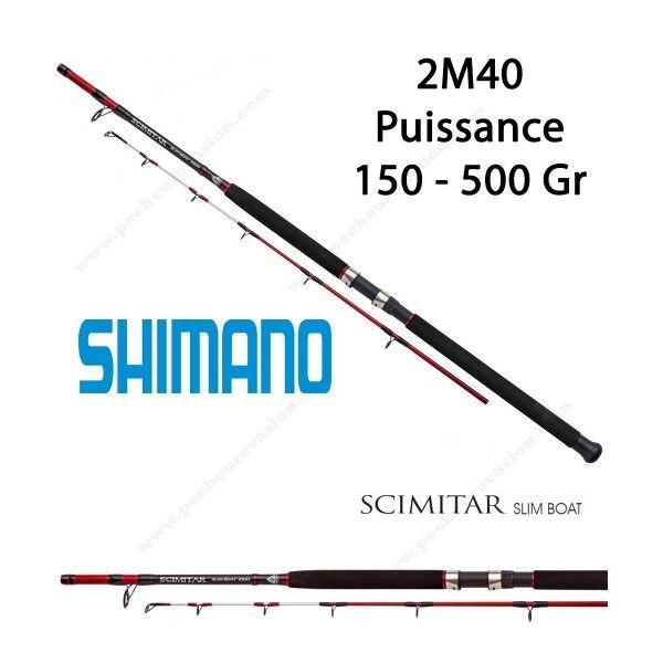 Canne Bateau SHIMANO Scimitar Slim Boat 2M40