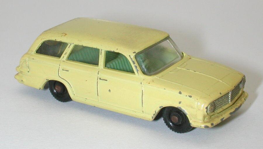 Matchlåda Lesney nr. 38 Vauxhall Victor Estate bil oc16191