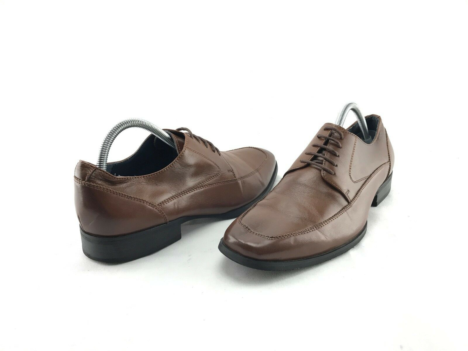 Steve Madden Sayge Uomo's Brown Lace Up Pelle Oxford's US Size 9 M Shoes #889