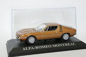 Ixo-Presse-1-43-Alfa-Romeo-Montreal-Marron-metal