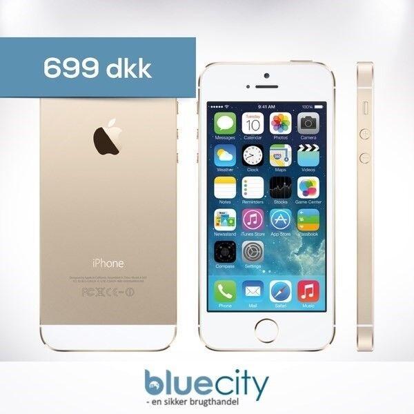 iPhone 5S, GB 16, hvid