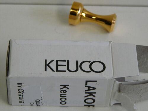Haken Handtuchhalter 24 Karat Badaccessoire Handtuchhaken Keuco Smart Gold