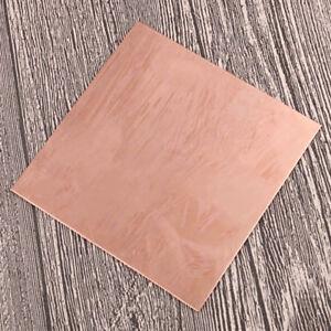 1x 99.9/% Kupferplatte CU Metal Sheet Dicke 1//1.5//2//mm Reines Kupfer Handarbeit