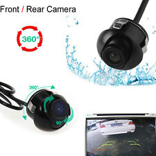 Mini Wasserdichte 360 ° CCD HD Auto Front Rückkamera hintere Ansicht Backup Cam