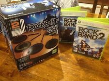 Rockband Portable Drum Kit - XBOX 360 + Rock band 1 & 2 VGC drumkit Mobile