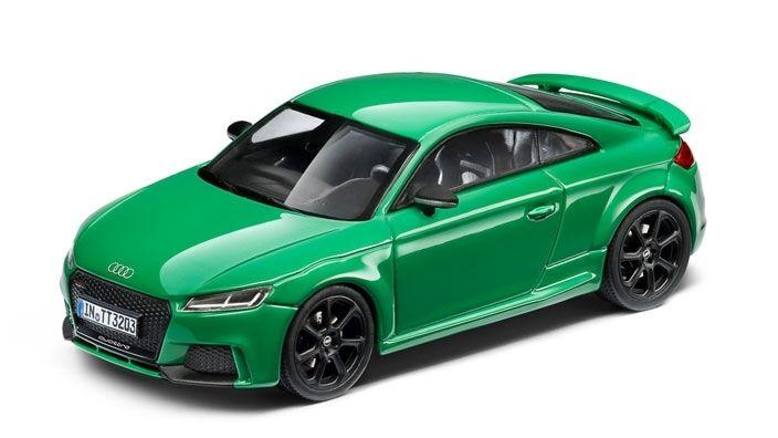 Original Audi Tt Rs 8S Coupé Modèle de Voiture 1 43 Vert Type 8S