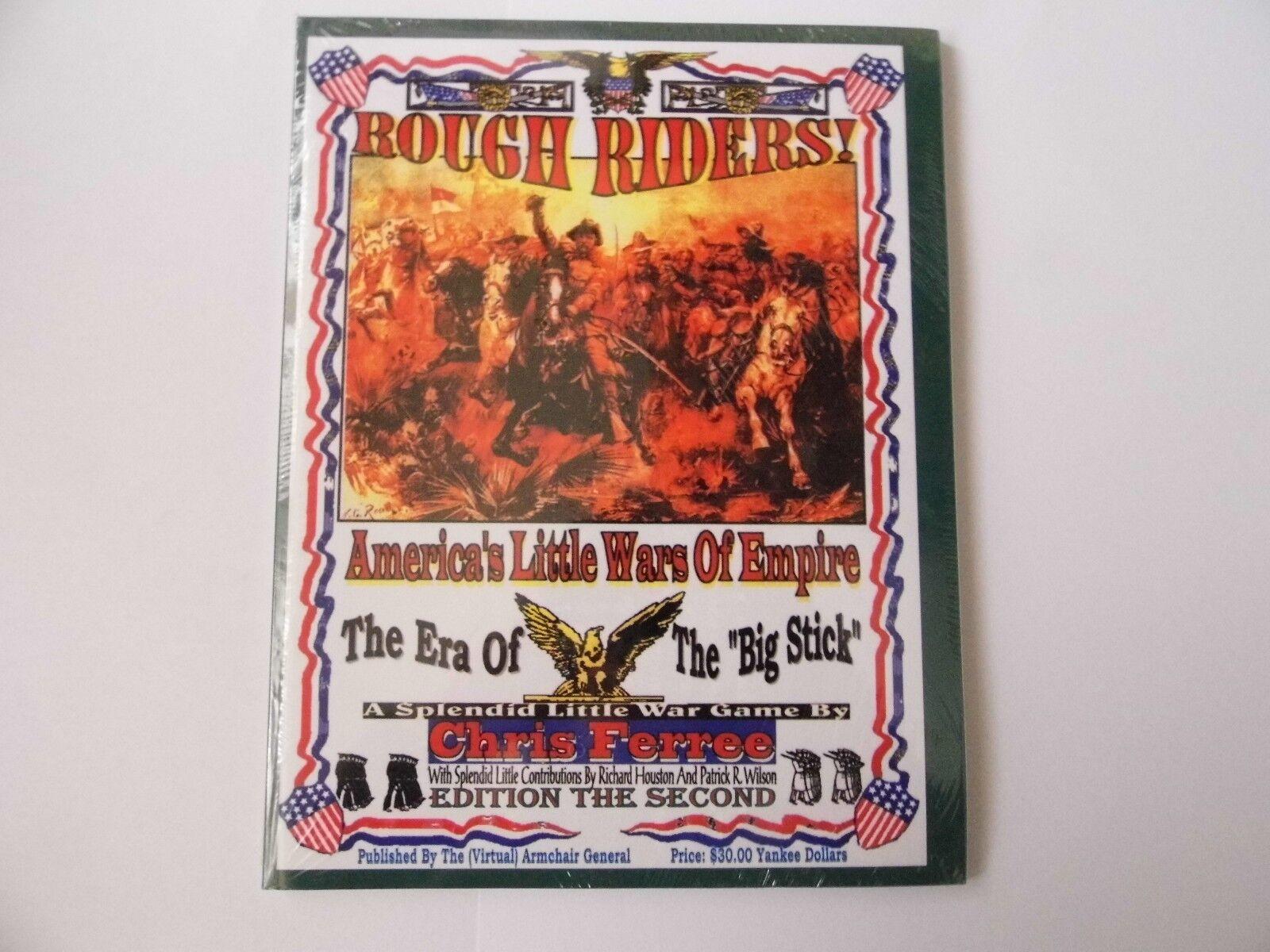 ROUGH RIDERS Edición Edición Edición The Second - Wargames RULES - Nuevo Sellado 67b673