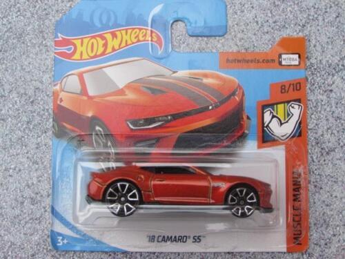 Spielzeugautos Hot Wheels 2018 #050/365 2018 Camaro Ss Orange Hw Muskel Mania Neu Casting
