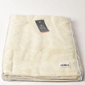 Moss-River-Nisa-Bed-Cover-260-300cm-Ecru-European-Fabric-RRP-815