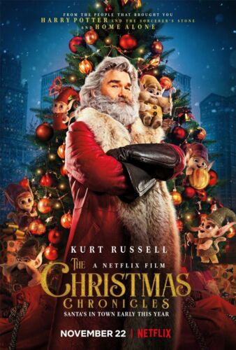 The Christmas Chronicles Movie Poster 2019 Kurt Russell 12x18 24x36inch 368