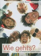 Wie Geht's?: An Introductory German Course by Dieter Sevin