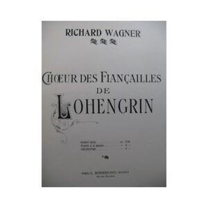Noten & Songbooks Sonderabschnitt Wagner Richard Markt Und Chor Ein Verlobung Von Lohengrin Piano Partitur She Senility VerzöGern Musikinstrumente