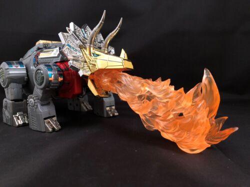 Masterpiece Transformers Dinobot Fire Effect Grinder Grassor Scoria Cesium USA!