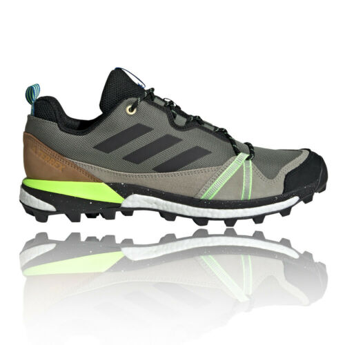 adidas Mens Terrex Skychaser LT Walking Shoes - Green Sports Outdoors Breathable