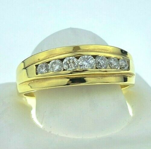 18k Gold Men's Diamond Ring