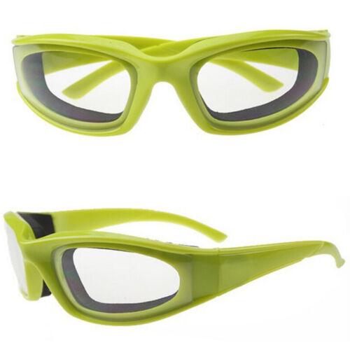 Zwiebelbrille Augen Gläser Zwiebeln hacken Tränen Freies Schutz Tool CJ
