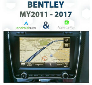 Bentley-2011-17-Factory-Audio-Integrated-Apple-CarPlay-amp-Android-Auto