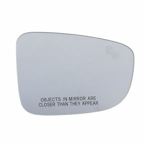 US Made Door Mirror Glass Replacement Driver Side For Mazda 6 09-12