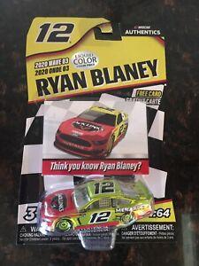 Ryan Blaney 2020 Wave 3 Nascar Authentics Jacklinks ...