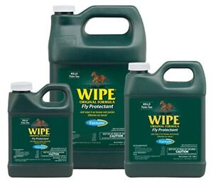 WIPE Fly Gnat Mosquito Repellent Kils on Contact Helps Remove Dirt Pint