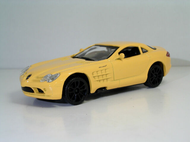"MondoMotors 53205 Mercedes-Benz SLR McLaren ""W/Orange""- METAL Scala 1:43"