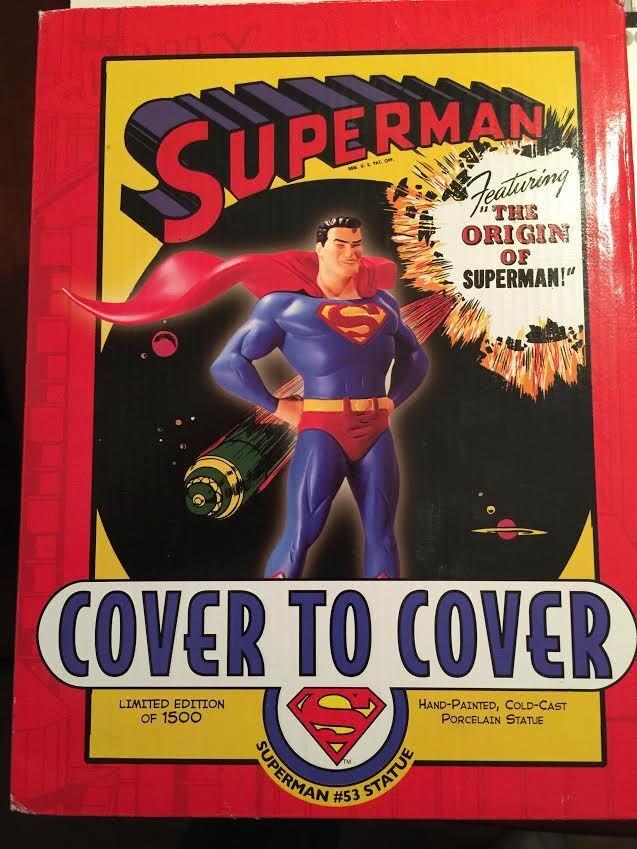 Cubierta de súperman para cubrir  53 8in estatua DC Comics