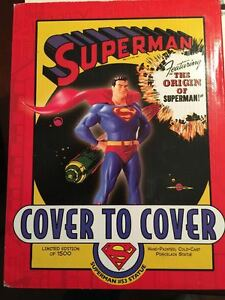 Superman Cover To # 53 8in Statue Dc Comics
