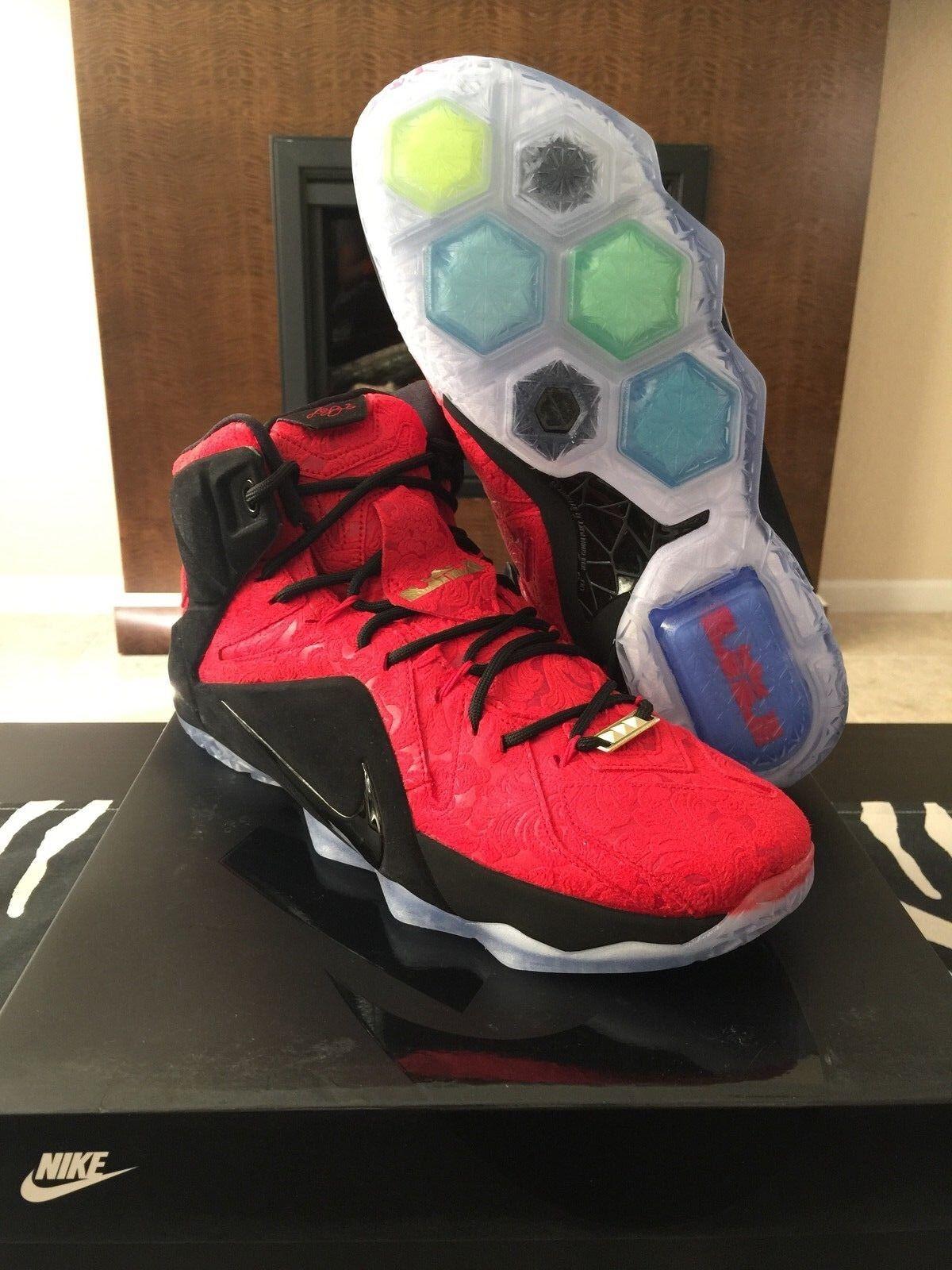 promo code acffb db306 Nike air lebron xii di citt   13 - - - 8 - 11 rosso