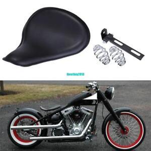 Solo-Sitz-Sitzfedern-Montage-Halter-Kit-Fuer-Harley-Bobber-Chopper-Custom-Bikes