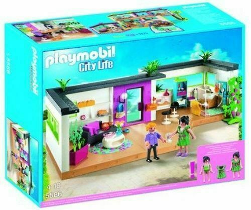 PLAYMOBIL City Life Modern Luxury Mansion Play Set 5574 ...
