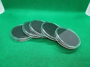 1 20 Black Ring 34mm Air-tite Coin Holder Capsules for 1//2oz Silver Maple Leafs Airtite Coin Holder Storage Container /&