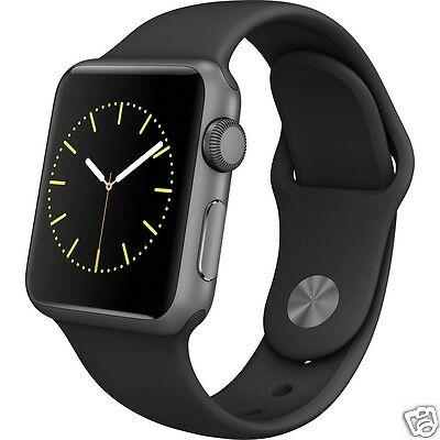 Apple Watch 38mm Aluminum Case with Sport Band 1st Generation